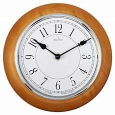 newton light wood wall clock new acctim 24581 newton light wood stylish wall clock ebay