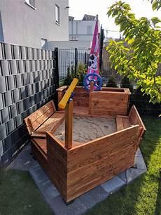 Diy Piratenschiff Sandkasten Gabelschereblog