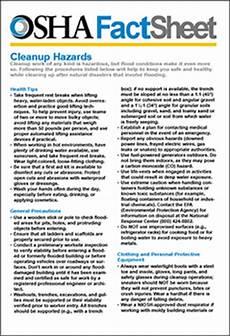 osha fact sheet tornado preparedness and response resources