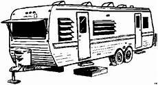wohnwagen stehend ausmalbild malvorlage die weite welt