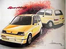 Fiat Cinquecento Sporting By Luciano Bove Car Design
