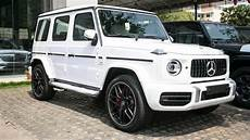 2019 mercedes g wagon amg 63 white