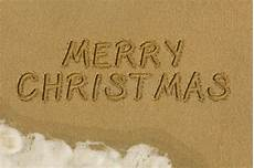 merry christmas message in the sand image of weather picture 47217500
