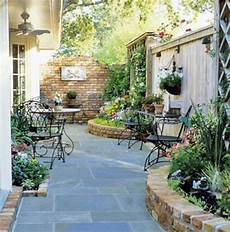 Patio Tour Classic Courtyard With Pond And