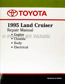 small engine service manuals 2013 toyota land cruiser parking system 1995 toyota land cruiser repair shop manual factory reprint