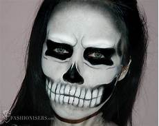 Totenkopf Schminken Frau - gaga inspired skull makeup tutorial
