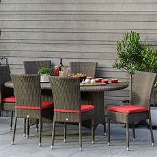table de jardin ovale en r 233 sine tress 233 e brin d ouest