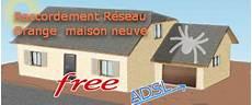 Free Adsl Maison Neuve Avec Raccordement Orange Sur Ligne