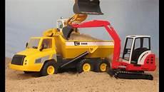 Playmobil Pelleteuse Camion De Chantier Tractopelle Avec
