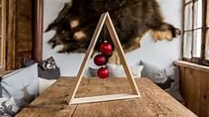 Project Tutorial Tannenbaum Im Holz Design Basteln Diy