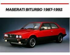 car repair manuals online free 1990 maserati karif windshield wipe control maserati biturbo 1987 1992 workshop service repair manual downloa