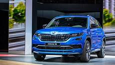see the skoda kodiaq rs vision rs sneak preview