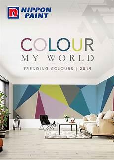 colour my world 2019 catalogue nippon paint singapore