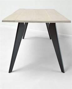 pied de table metal proov fabricant de pieds de table et plateau en bois design