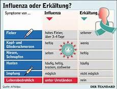 Symptome Influenza Oder Grippe Vogel Grippe
