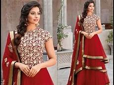 hairstyle on anarkali suit best trendy easy hairstyle ideas for anarkali suit youtube