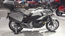 honda nc750x dct travel edition 2017 exterior and