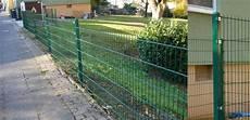 vorgarten zaun metall gartenzaun kpl 20 meter 83cm h 246 he gr 252 n zaun