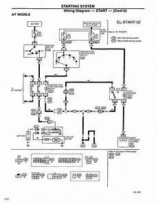 1998 nissan frontier ac wiring diagram repair guides electrical system 1999 starting system autozone