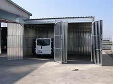 box per auto in lamiera box auto prefabbricati in lamiera zincata o coibentati