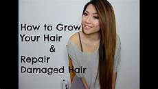How To Style Your Hair When how to grow your hair and repair damaged hair diy