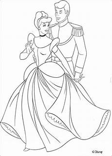 cinderella and the prince coloring page coloring cars