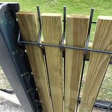 cloture occultant bois occultant bois pour cl 244 ture rigide pour bricoler malin 59