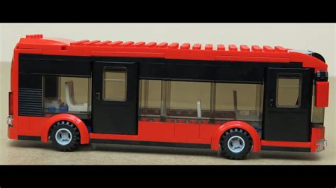 Lego How To Build A Bus Speed Build And Instructions