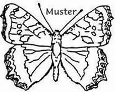 Ausmalbild Schmetterling Tagpfauenauge Tierstempel Heimische Tiere Insekten Raupen
