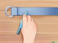 faire des trous dans une ceinture comment faire une ceinture en tissu 14 233