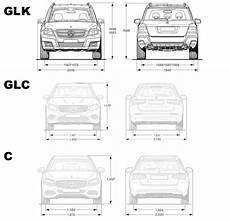 Abmessungen Vergleich Glk Glc C Seite 2 Danke F 252 R Die