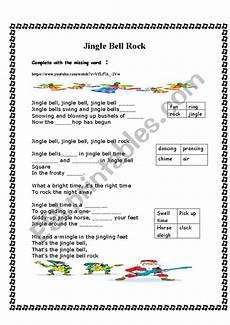 jingle bells rock esl worksheet by soto andrea23