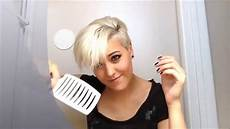 how to style really short pixie hair youtube
