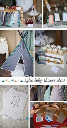 aztec baby shower ideas