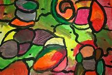 Abstract Expressionism Shapes