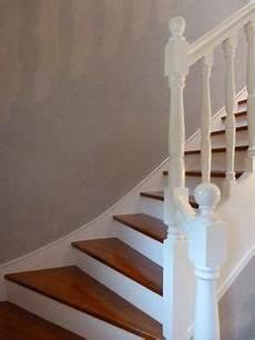 escalier repeint en blanc escaliers en 2019