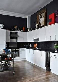 Ideas For Black Kitchen by Black And White Kitchen Decor To Feed Exclusive And Modern
