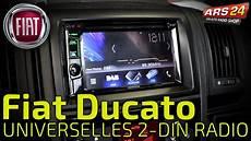 fiat ducato auf 2 din autoradio umbauen i tutorial i