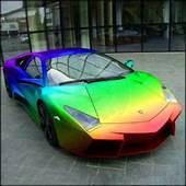China Magic Chameleon Paint Chrome Color Shift Wrap Pearl