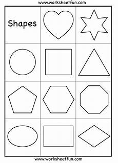 shapes coloring worksheets for kindergarten 1063 the world s catalog of ideas