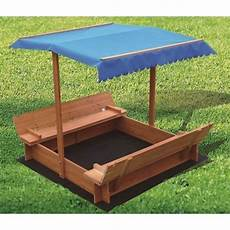 Sandkasten Kaufen - outdoor wooden sandpit with uv protected canopy buy