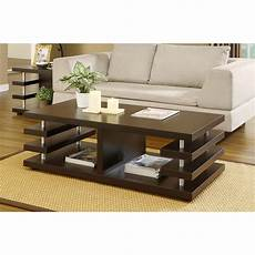furniture of america architectural inspired dark espresso coffee table home new ebay