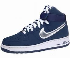 nike air 1 one high 07 sneaker neu navy blau m 196 nner