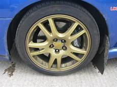 subaru impreza 17 quot wrx sti gold alloy wheels tyres in