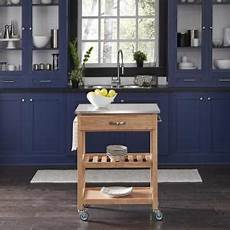 Kitchen Cart Maple by Home Styles Kitchen Cart With Storage 5216 95