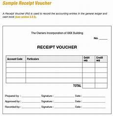 9 free sle receipt voucher templates printable sles