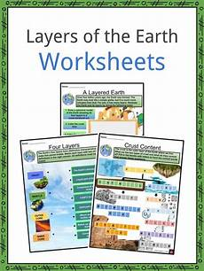 movement of the earth s crust worksheets 14432 layers of the earth facts worksheets crust and tectonic plates for