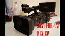 sony fdr ax1 4k professional handycam review