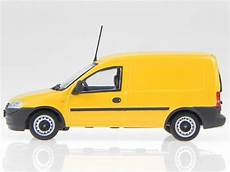 opel combo kasten 2002 yellow modelcar minichs 1 43
