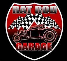 Sticker Garage by Rat Rod Garage 2 Pack Vintage Style Rod Decal Vinyl